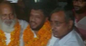 Bulandshahr violence accused get hero's welcome