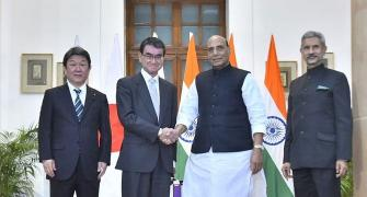 India-Japan 2+2 dialogue: An eyesore for China
