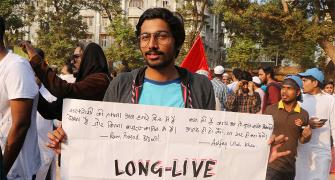 Portraits of Mumbai's anti-citizenship law protesters