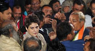 Cops say didn't manhandle Priyanka; complaint in NHRC