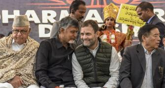 Naidu's daylong fast becomes rallying point for Opposition unity