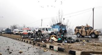 Explosion on CRPF convoy was heard 10 km away