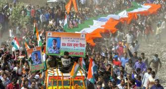 Thousands pay tribute as bodies of CRPF soldiers reach homes
