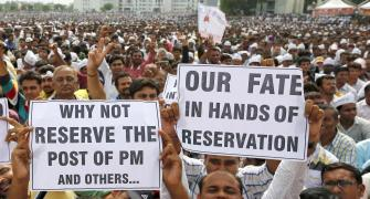You won't need reservation after 25 years if...