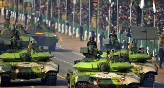 PHOTOS: India displays its military might at grand R-Day parade