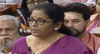Sitharaman, only 2nd woman to present Union Budget