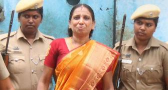 Rajiv Gandhi killer 'threatened' to end her life
