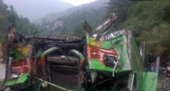 44 dead, 34 hurt as bus falls in drain in HP