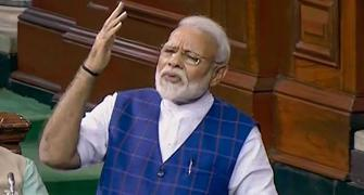 Congress can't see beyond a family: Modi in Lok Sabha