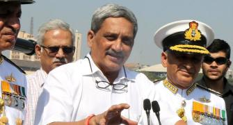 Surgical strikes to Rafale deal, Parrikar had eventful term as Def Min