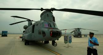 IAF inducts 4 Chinook heavy-lift helicopters