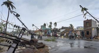 Cyclone Fani makes landfall; winds, rain batter Puri