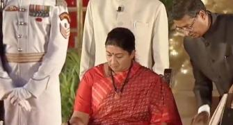 For Smriti Irani, sky is the limit