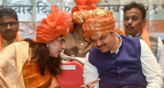 BJP leaders want re-election in Maharashtra