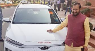 MPs use e-cars, bikes to reach Parliament
