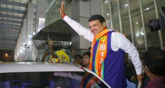 BJP loses ground in Fadnavis' hometown