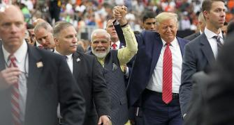 Modi, Trump keep the bromance alive in Houston