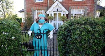 UK village honours frontline workers with scarecrows!