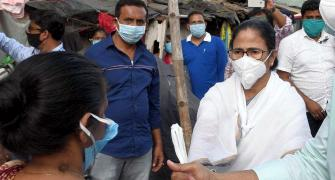 Mamata hits the streets in fight against coronavirus