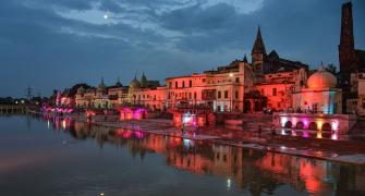 PHOTOS: Ayodhya comes alive ahead of Ram Mandir event