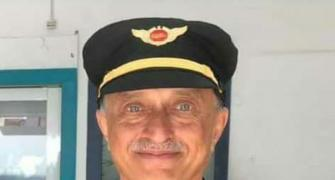 Capt Sathe survived a crash, but returned to flying
