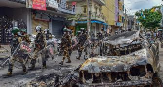 Ex-Cong mayor named accused in B'luru violence case