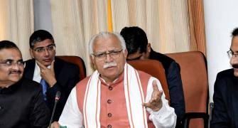 Farmers blocking Haryana CM booked for murder attempt