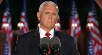 '4 more years of Trump': Pence accepts VP nomination