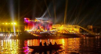 PIX: PM attends colourful Dev Deepawali in Varanasi