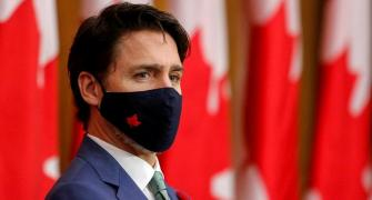 Canada's Trudeau backs farmers' protest