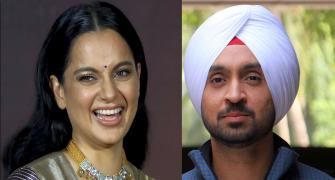 Kangana, Diljit in Twitter war over farmers' protest
