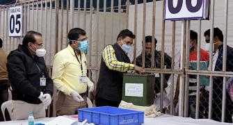 Hyderabad civic polls: BJP ahead in postal ballots