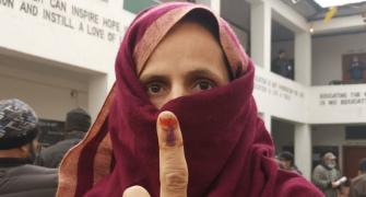 Polling underway for 3rd phase of DDC polls in J-K