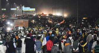 Day 9: Farmers continue to camp at Delhi borders