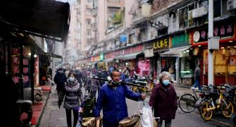 A year on, markets bustling in Wuhan