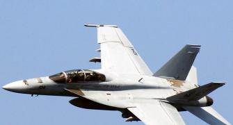 Boeing tests Super Hornet for Indian Navy