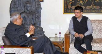 Why did Ganguly meet WB Governor? He answers