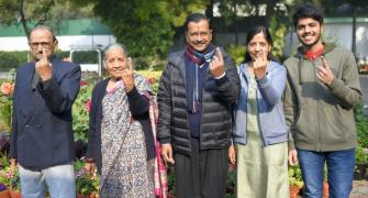 AAP victory is Kejriwal's gift to wife on birthday