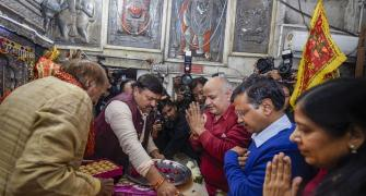 AAP's use of Hindu symbolism is a sign of the times