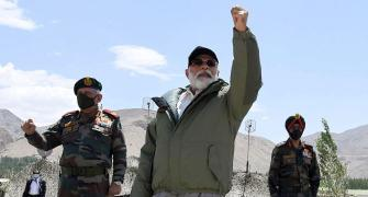 'Modi went to Leh and China got scared'