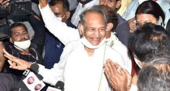 Congress claims support of 109 Rajasthan MLAs