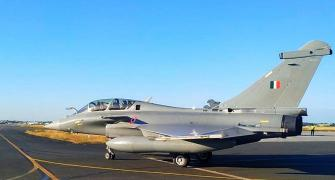 SEE: First batch of Rafales leaves France for India