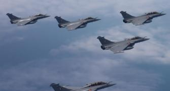 IAF's first 5 Rafale jets arrive in India