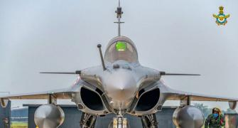 'No comparison between Rafale and China's J-20s'