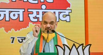 Shah sounds Bihar poll bugle at 'non-campaign' rally