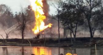 Fire at Assam gas well periphery doused
