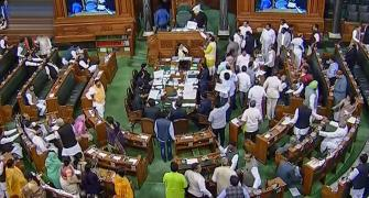 Congress, BJP members scuffle in Lok Sabha