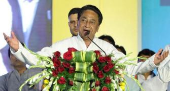 'Missing' MP MLA returns, says he supports Kamal Nath