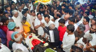 Who after Anbazhagan in DMK?
