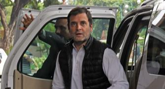 He forgot his ideology: Rahul on Scindia's exit